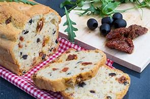 Torta Salata Olive e Pomodori Secchi