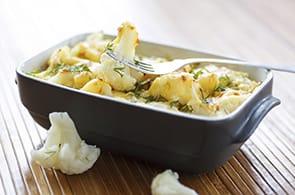 Cavolfiore Gratinato con Patate e Brie