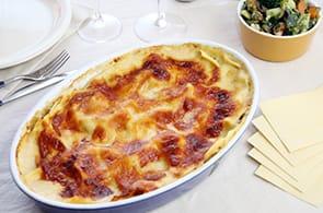 Lasagne al Camembert
