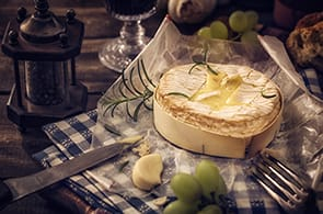 Camembert al Forno con Aglio