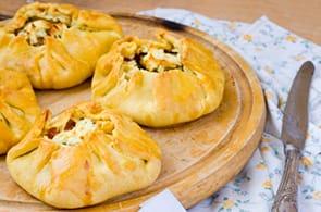 Fagottini di Pasta Sfoglia Tonno e Zucchine
