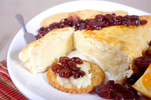 Brie in crosta