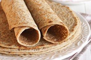 Crêpes con farina di quinoa
