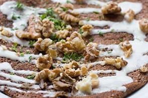 Crêpes gorgonzola e noci