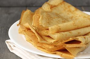 Ricetta per crepes con farina di riso