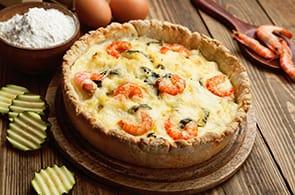 Quiche Zucchine e Gamberetti