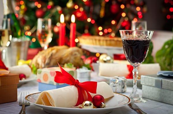 La Tavola di Natale in Stile Francese
