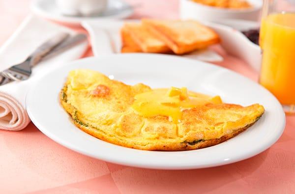 Omelette: Deuxième étape nella Cucina Francese