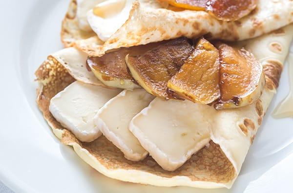 Omelette con Brie