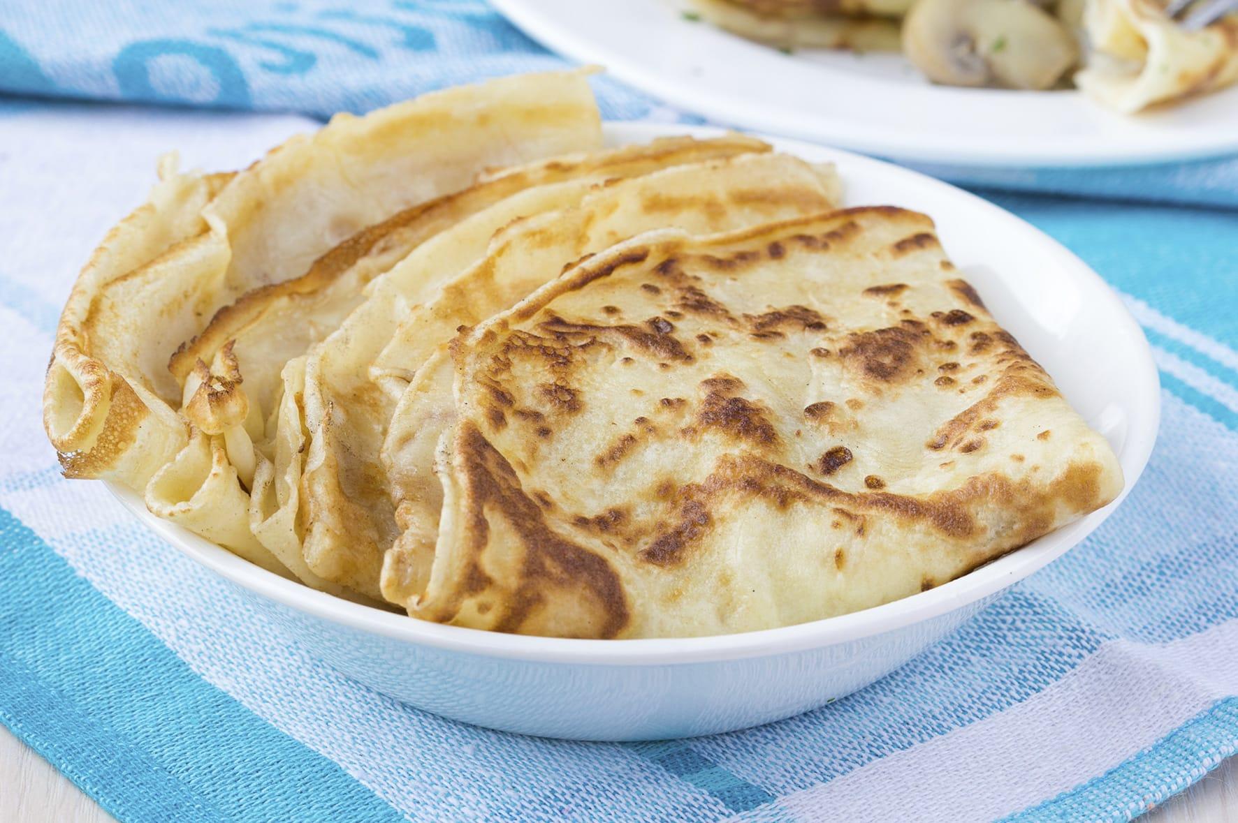 Crêpes senza uova