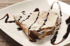Crêpes al cioccolato