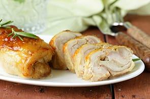 Involtini di pollo e brie