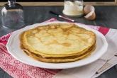 Crêpes senza latte