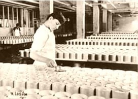 La produzione del Camembert