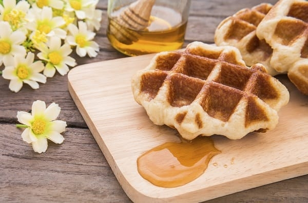 Gaufre ricetta waffles waffles dolci alla francese for Ricette francesi