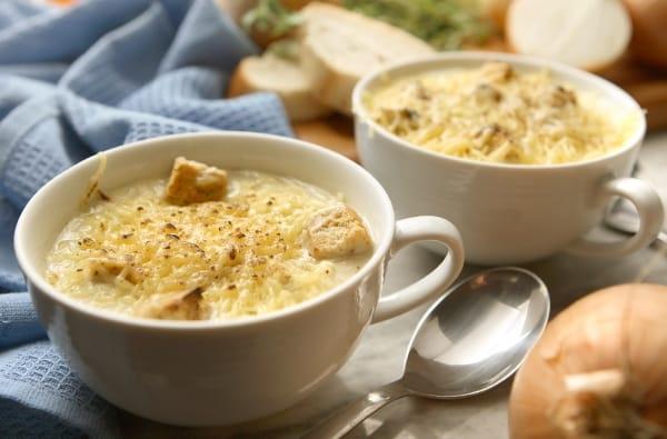 Zuppe Francesi, Minestre e Formaggi