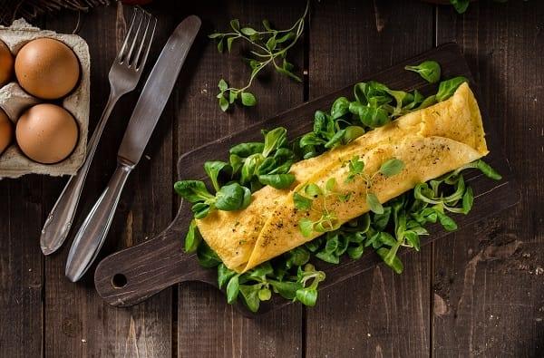 Omelette con Tronchetto di Capra
