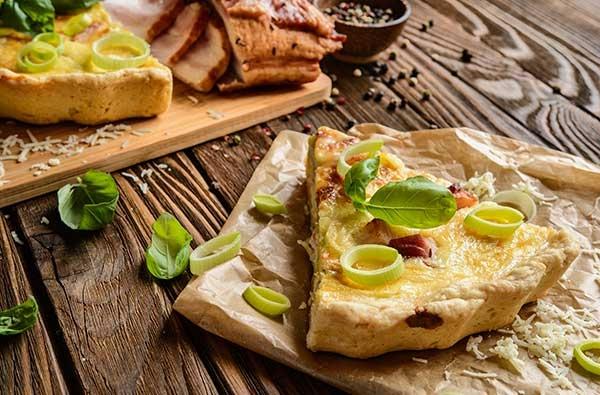 Quiche con Camembert