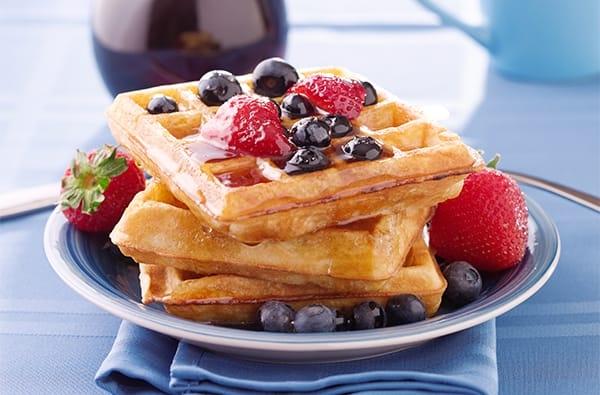 Ricetta Waffle Francesi - le Gaufres