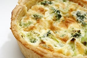 Quiche con Broccoletti