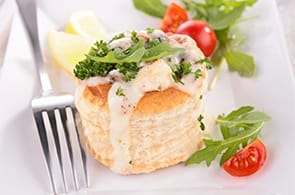 Vol-au-vent vegetariani