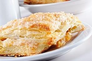 Fagottini di mele e crema
