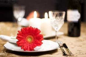 Menù Cena Romantica alla Francese
