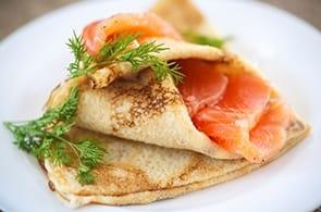 Crêpes al Salmone
