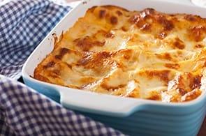 Lasagne prosciutto cotto e brie