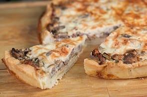 Pasta Sfoglia Brie e Funghi