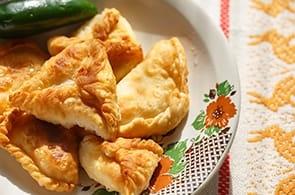 Fagottini di Pasta Sfoglia con zucchine e gamberetti