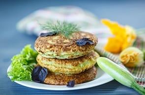 Frittelle brie e zucchine