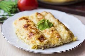 Cannelloni con asparagi e formaggio di capra