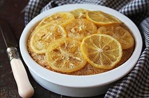 Clafoutis di limoni