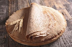 Crêpes con grano saraceno