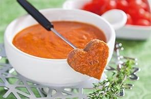 Fonduta à la tomate