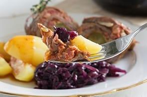 Involtini radicchio e camembert
