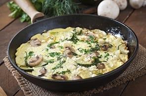 Omelette alla boscaiola