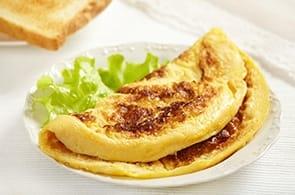 Omelette con scamorza