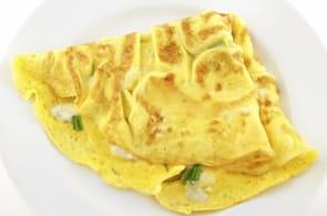 Omelette Aragosta e Brie