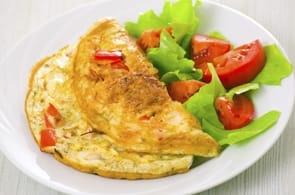 Omelette Brie e Pomodorini
