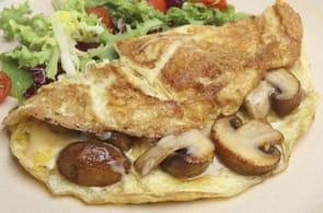 Omelette Funghi e Brie