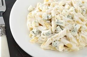 Pasta gorgonzola e brie