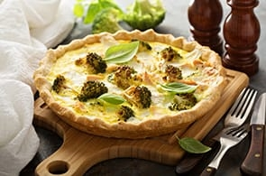 Quiche con Broccoli