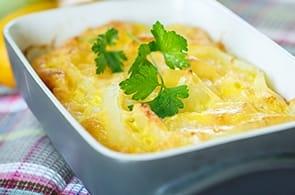Sformato di patate e brie