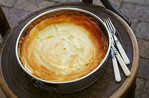 Tarte au fromage blanc - Torta al Formaggio Bianco