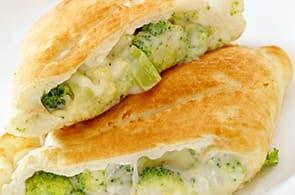 Calzone brie e broccoli