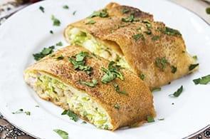 Crêpes zucchine e taleggio