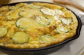 Omelette al Forno con Emmental, Brie e Roquefort