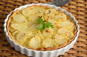 Crostata di patate